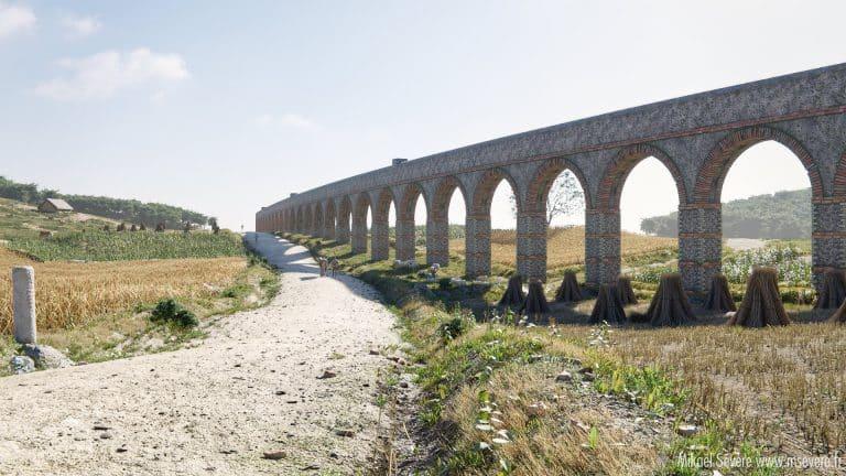 Route romaine