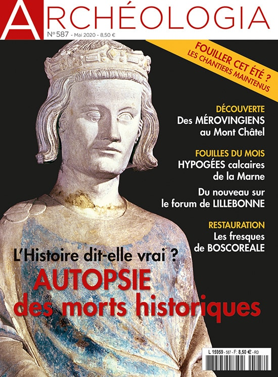 Couverture Archeologia 587