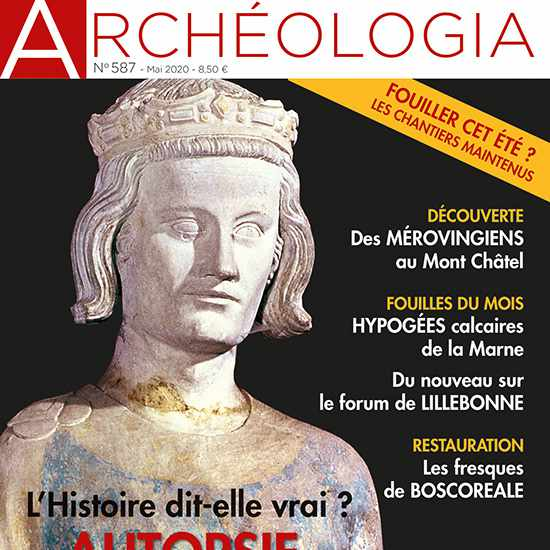 Couverture Archeologia 587 Miniature
